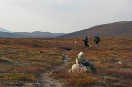 Nordover mot Luvddid - Foto: Odd Rudberg