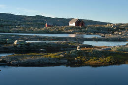 Stille vann ved Skavlabu - Foto: Ukjent