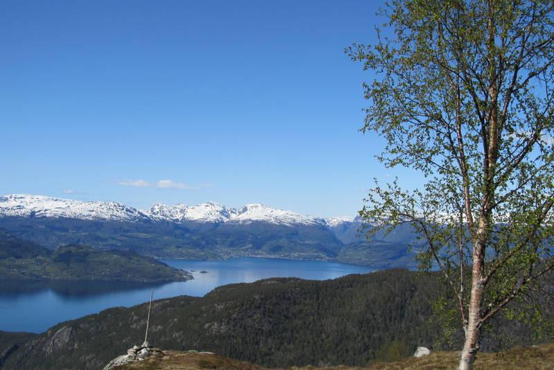 Utsikt frå Fjellstøl