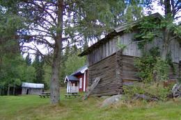 ubetjent hytte, Finnskogen Turistforening, Varaldskogen Kongsvinger - Foto: Åsmund Skasdammen