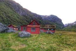 Viglesdalen og målet for turen -  Foto: Marvin Solheim
