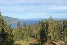 Fantastisk panorama - like til Helgøya -  Foto: Otto K. Blix Hulbak