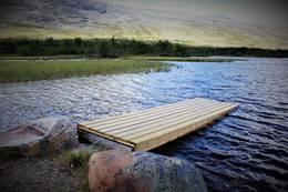 Om du padler fra Flatseter med egen kano. kan du legge til hoss oss - Foto: