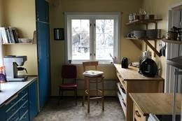 Kjøkkenet i fyrbygningen - Foto: