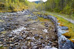 Veien til Valnesfossen - Foto: Tursiden for Bodø og Salten