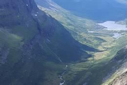 Utsikt fra Kringlehøa - Foto: Bente Vasli