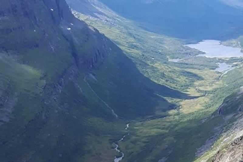 Utsikt fra Kringlehøa