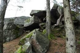 Fantehelleren ved Lomtjønn - Foto: Ukjent