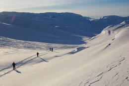 Fra området ved Haukeliseter - Foto: Stavanger Turistforening