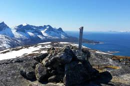 Klippetanga og utsikt vestover - Foto: Kjell Fredriksen