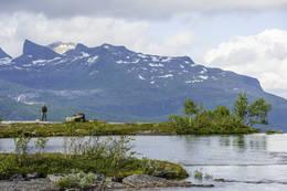 Vakkert her oppe på fjellet - Foto: Kjell Fredriksen