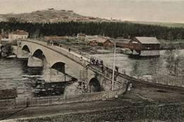Gamlebrua i Kongsvinger mot festningen - Foto: Kongsvinger Vinger historielag
