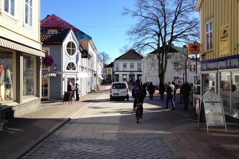 Snart mat... Cafe Galleri, Grimstad