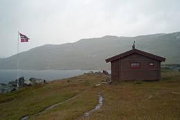 Noe dårlig vær på Gautelishytta:-)  - Foto: Clas Holmberg