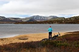 Sykkelmulighetene i alvdal vestfjell er mange - Foto: