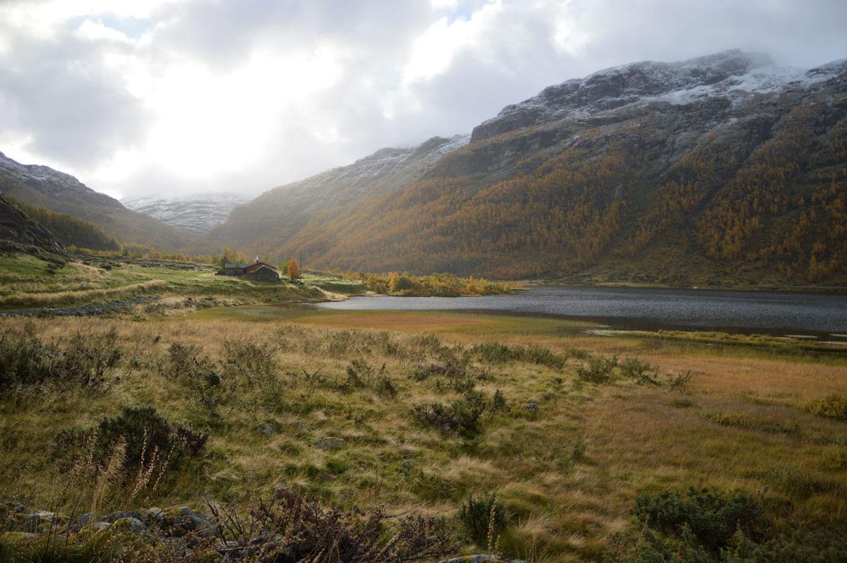 Gården Urvik/Urdaviki i Aurlandsdalen