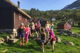 På tur til Gimmestadstøylen 2018 - Foto: Katrine Fjellestad Aske