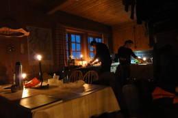 Adventstur, Bergen Turlag, fjellsportgruppen. Kaldavass, des. 2011.  - Foto: P ?