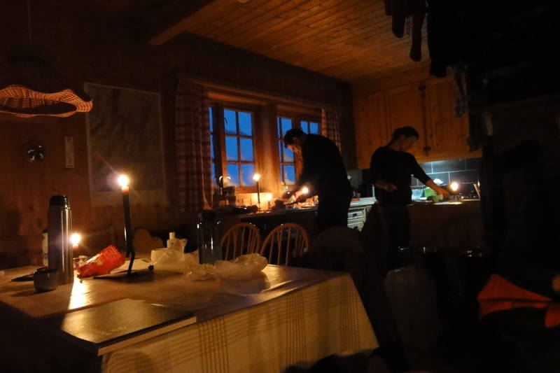 Adventstur, Bergen Turlag, fjellsportgruppen. Kaldavass, des. 2011.
