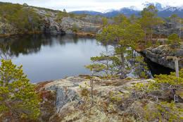 Klippetanga til høyre i bildet - Foto: Kjell Fredriksen