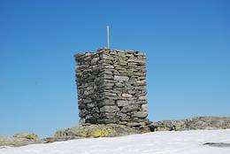 Varden på Sundagsfjellet -  Foto: Torill Refsdal Aase.
