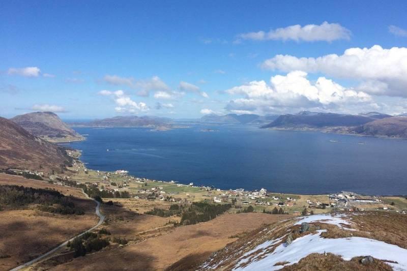 Utsikt fra Nobba- Bukken