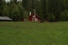 På Luka gård kan du leie deg hytte -  Foto: Ukjent
