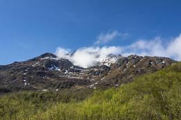 Vågsfjellet, der vi om litt skal ut å gå. - Foto: Kjell Fredriksen