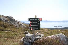 Kryss på toppen av Storura -  Foto: Roar Haugsgjerd