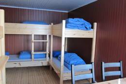 Soverom med køyesenger i 1.etg.  - Foto: Hilde Løken Magnussen