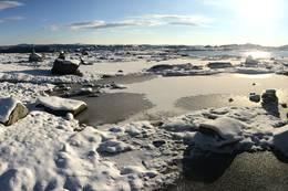 Rett før Skavlavatna, på vei mot Skavlabu. -  Foto: André Marton Pedersen