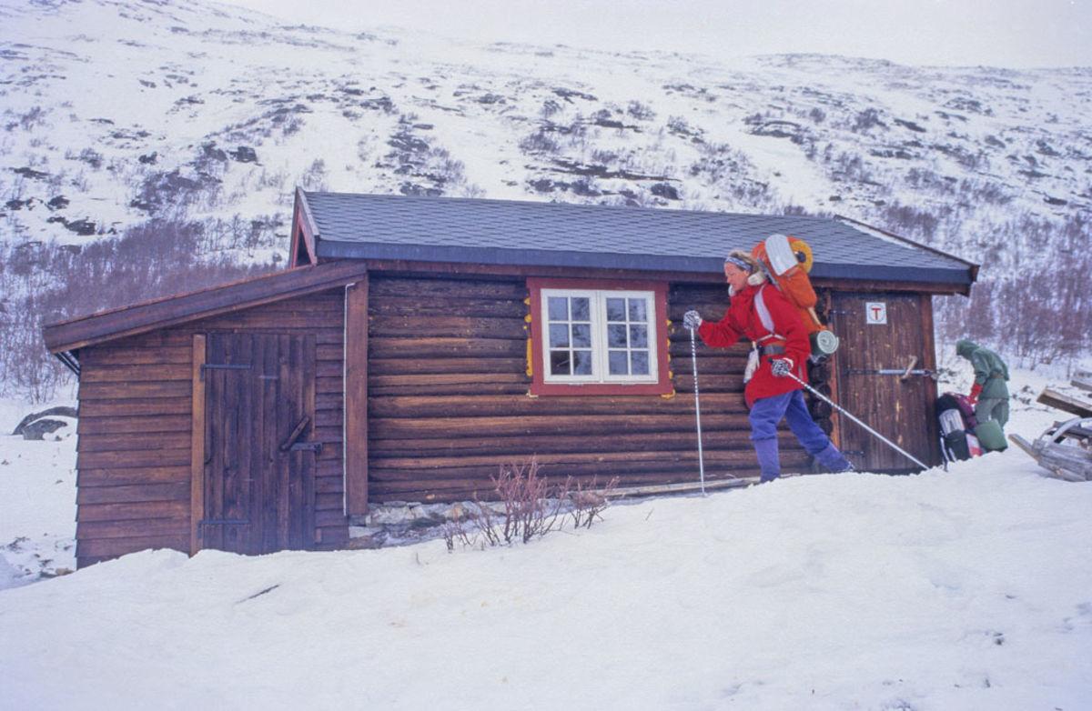 Skridulaupbu fotografert vinteren 1996