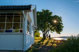 Kystledhytta på Ytre Vassholmen -  Foto: Oslofjordens Friluftsråd