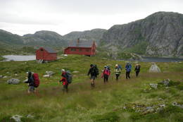 Avgang Stakken -  Foto: Stavanger Turistforening
