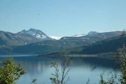Okstindan og Okstindbreen - Foto: Helle Andresen