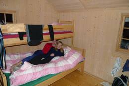 Soverommet på annekset ved Granbustøyl - Foto: Roald W Knutsen