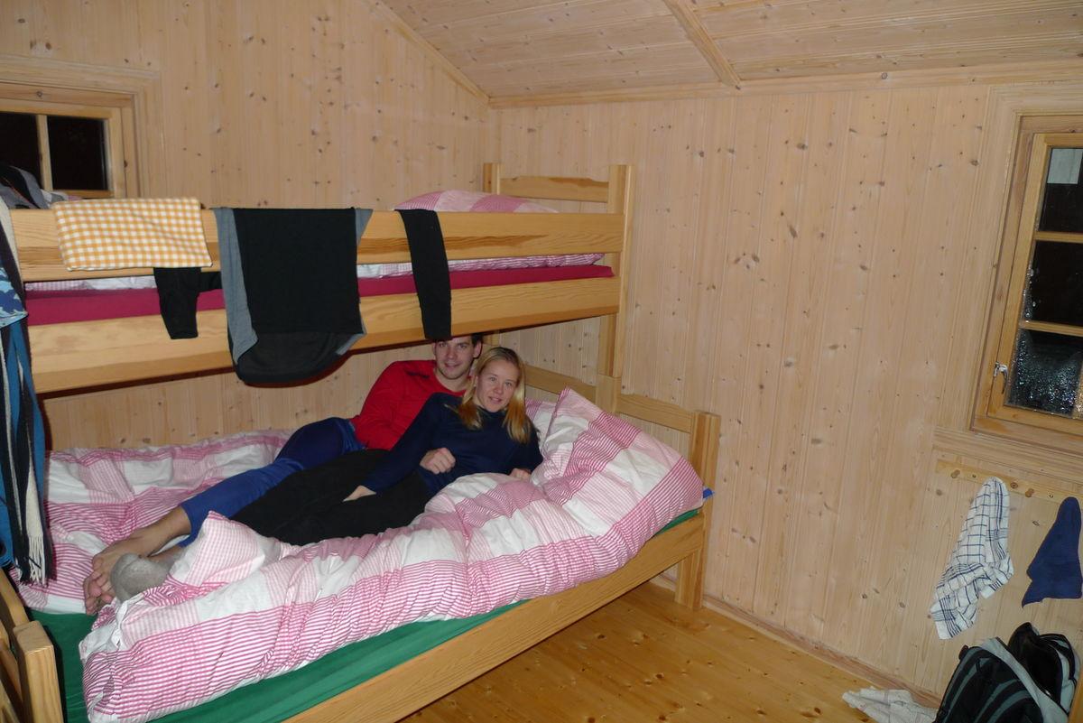 Soverommet på annekset ved Granbustøyl