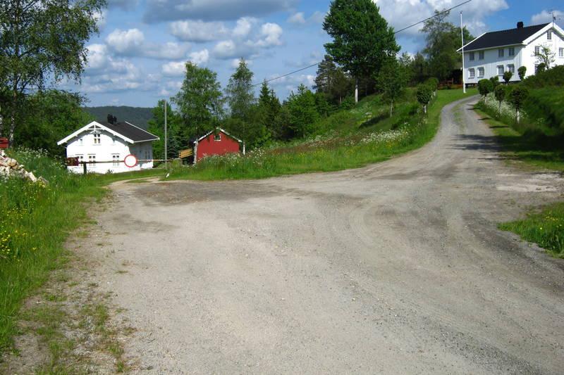 Snuplassen ved Oland, parkeing på venstre side