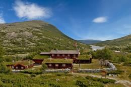 Sommer ved Bjørnhollia -  Foto: Ukjent