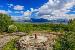 Rester fra 2. verdenskrig - Foto: Gunnar E Nilsen