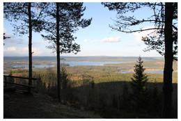 Utsikt fra Gapahuken på Dronningens utsikt -  Foto: Bente Ovlien