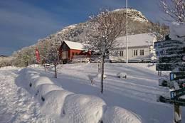 Gramstad med snødrakt - Foto: Helen Adamson