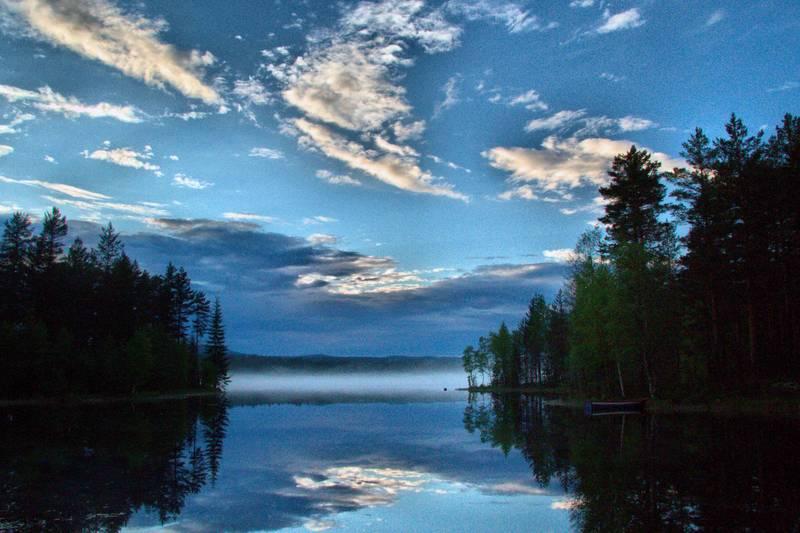 Løpsjøen en sen junikveld