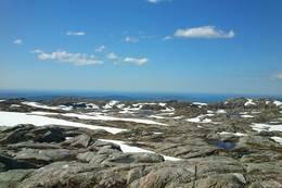Usikt fra toppen -  Foto: Bjarne Hammervik