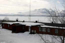 Ritsem Fjällstation -  Foto: Marie Brøvig Andersen
