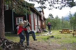 Reindalseter er et paradis for barn - Foto: Kristin Oftedal Vinje