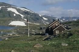 Turen ender ved Geiterygghytta -  Foto: Per Roger Lauritzen