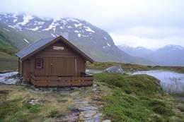 Jashaugbu er et fint utgangspunkt for tur til den litt ukjente breen sør for Sognefjorden -  Foto: Tor Magne Botten