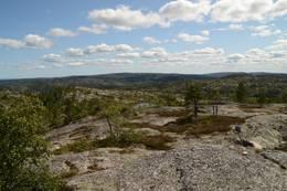 Utsikt mot Solholmfjell - Foto: Knut Åkredalen