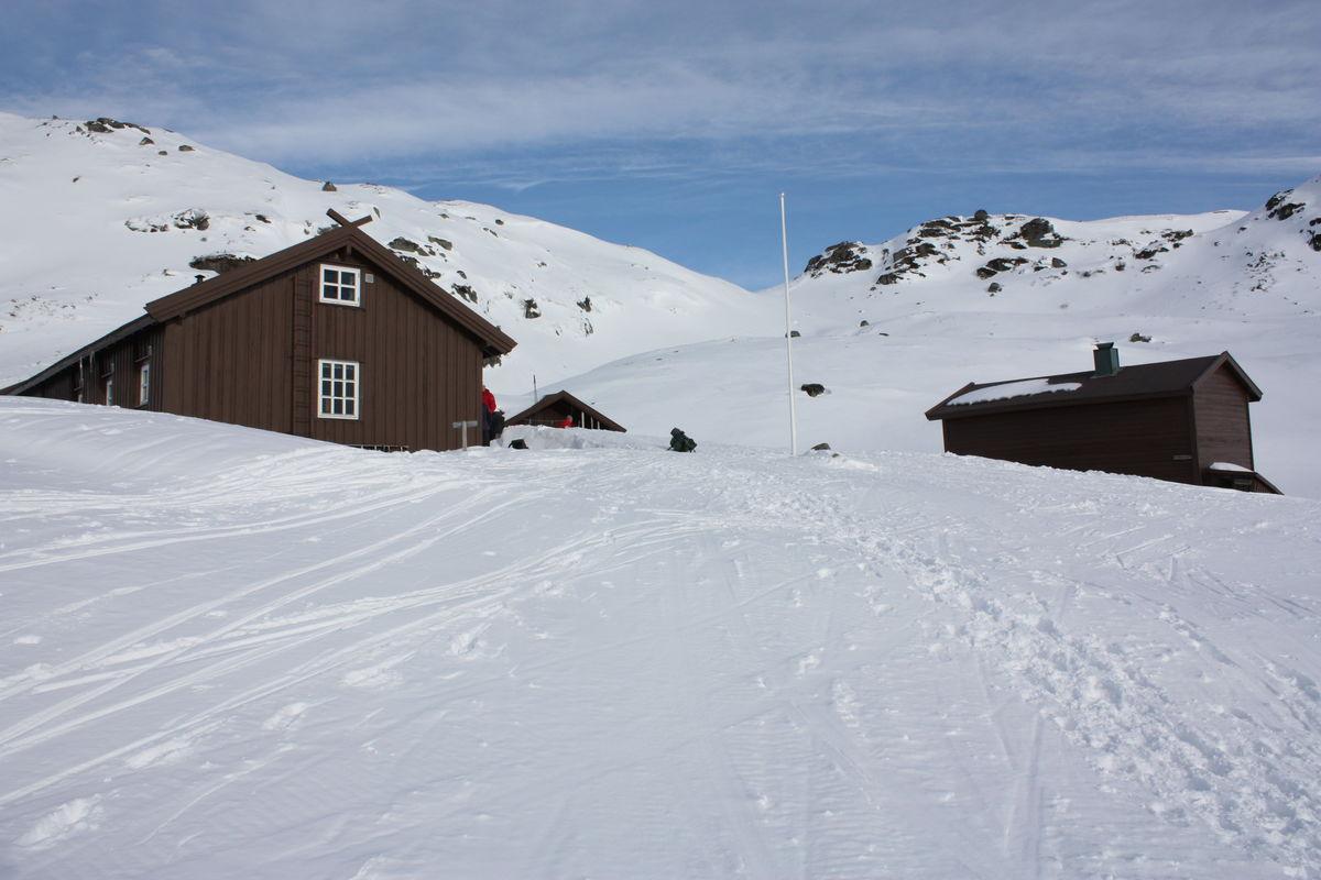 Vinter på Øyuvsbu